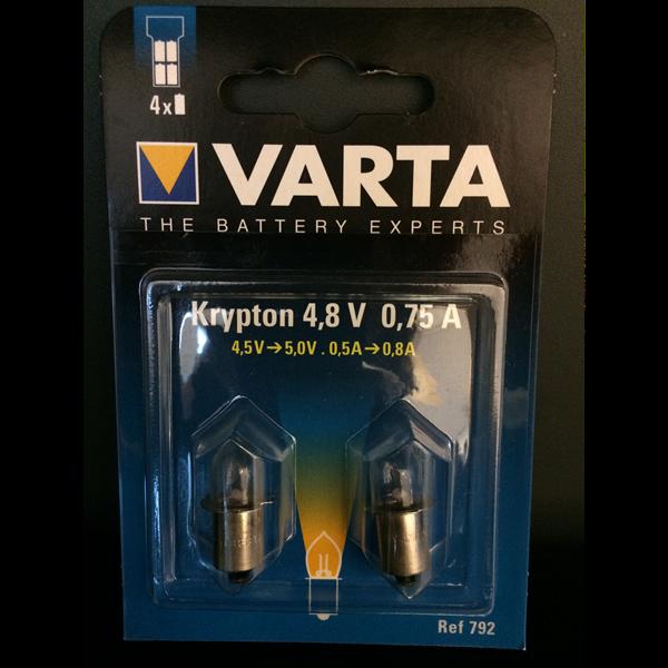 ampoule 4 8v 0 75a