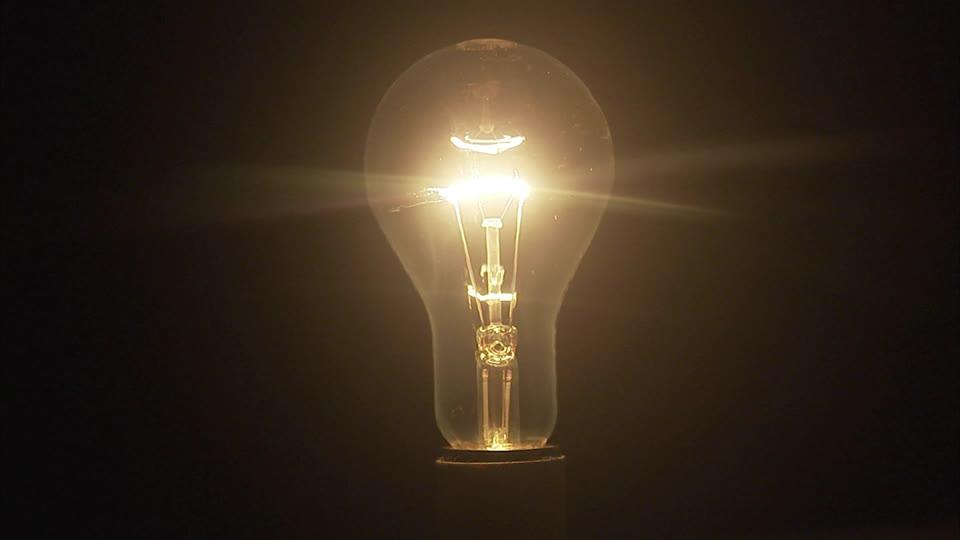 ampoule allumee