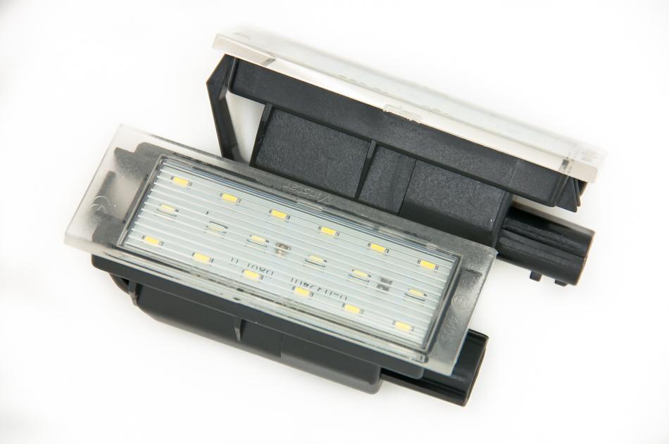 ampoule eclairage plaque d'immatriculation
