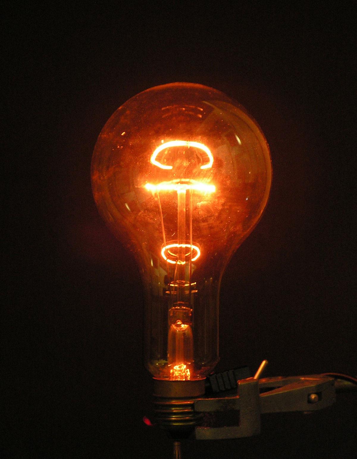 ampoule electrique a incandescence