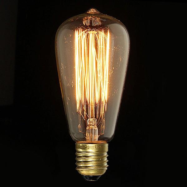ampoule incandescente vintage