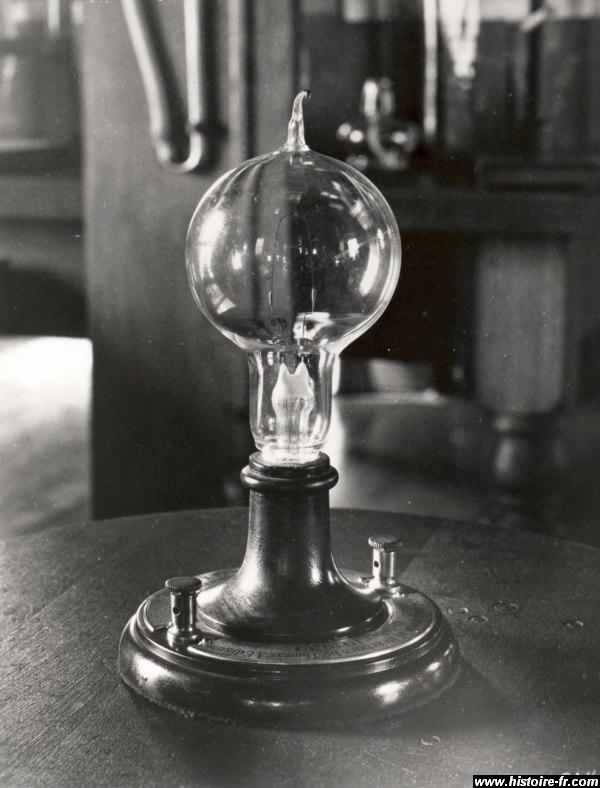 ampoule invention