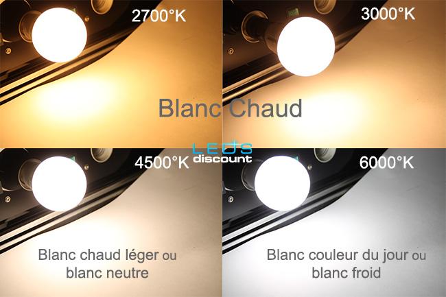ampoule jaune ou blanche