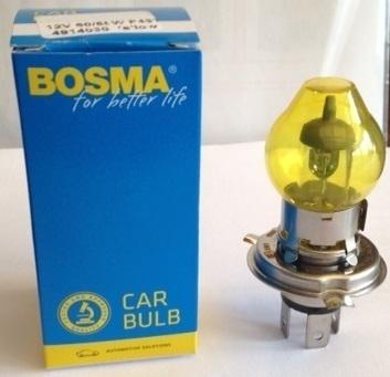 ampoule jaune voiture