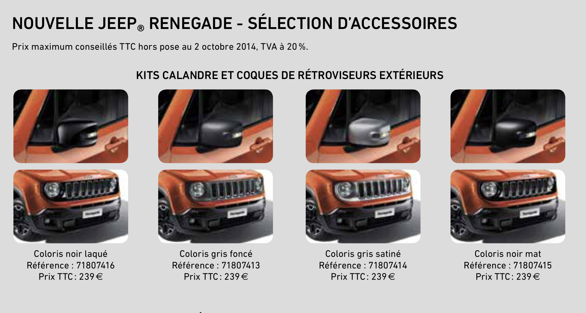 ampoule jeep renegade