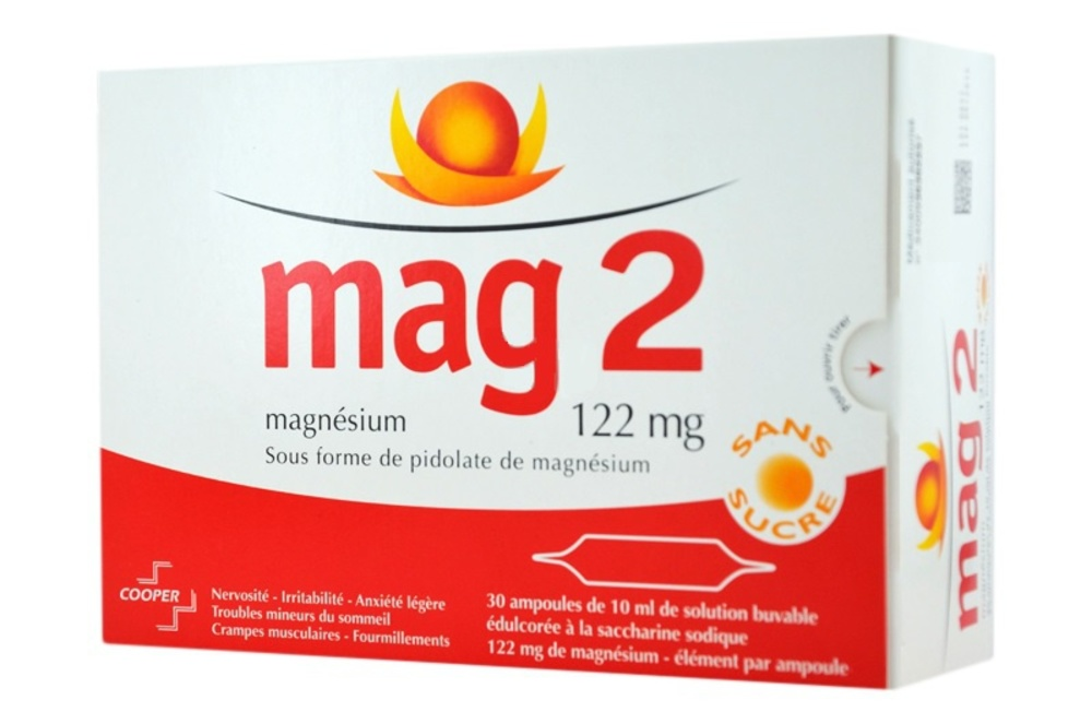 ampoule magnesium