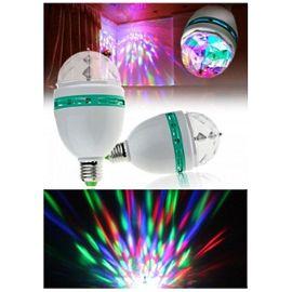 ampoule multicolore