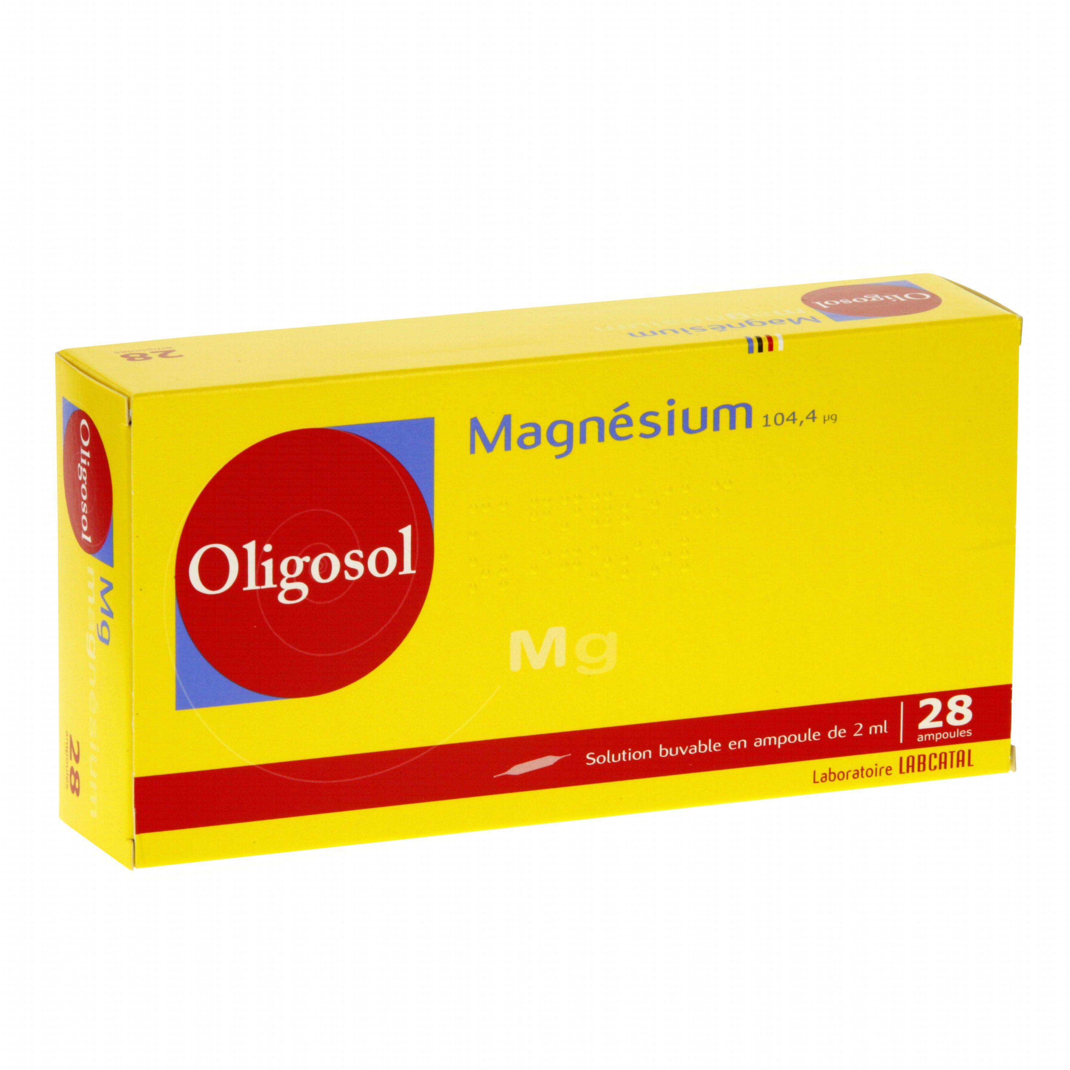 ampoule oligosol