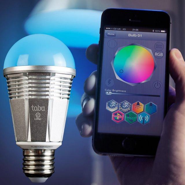 ampoule qui change de couleur