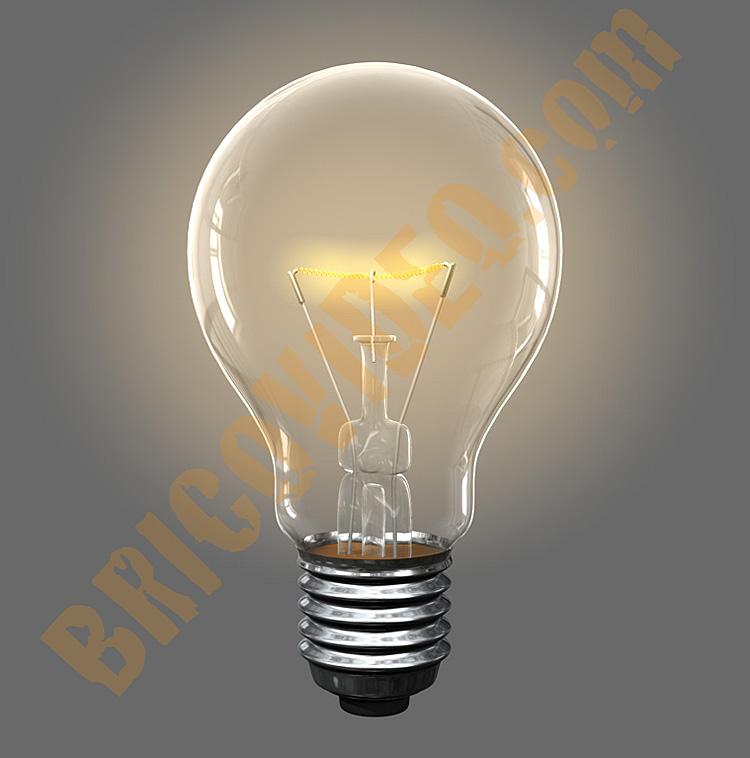 ampoule qui clignote
