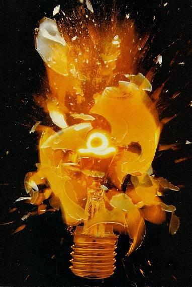 ampoule qui explose