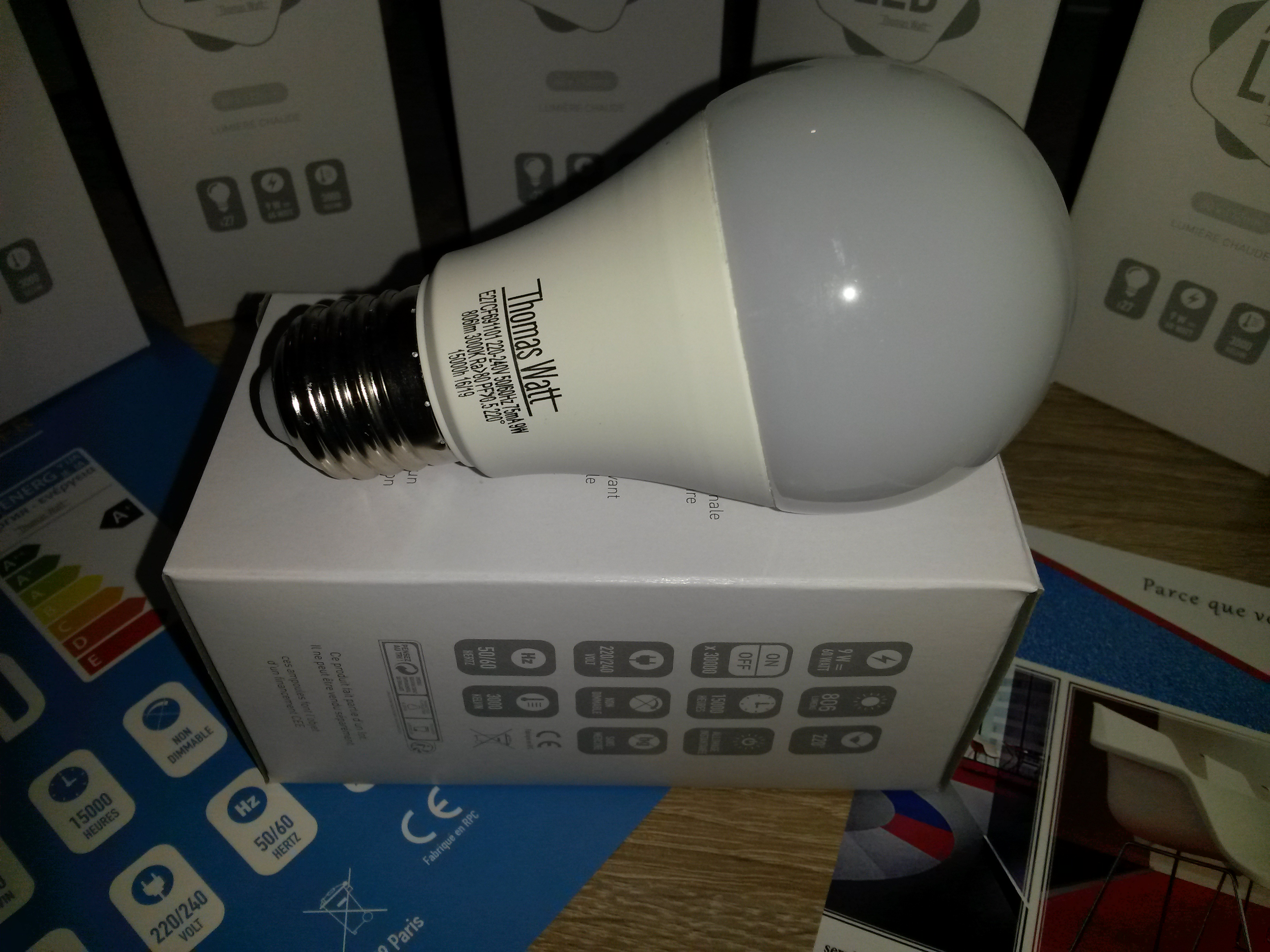 ampoule thomas watt
