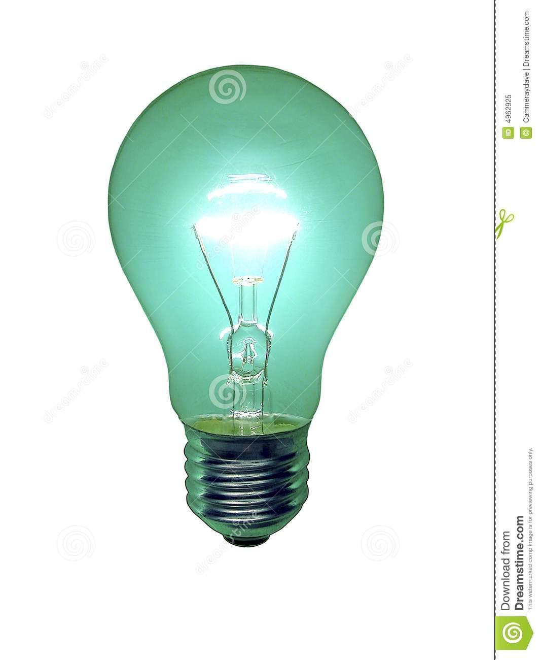 ampoule verte