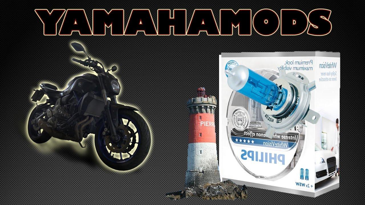 ampoule yamaha mt 07