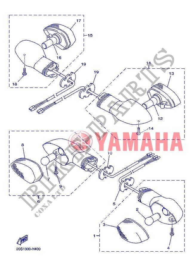 ampoule yamaha xj6