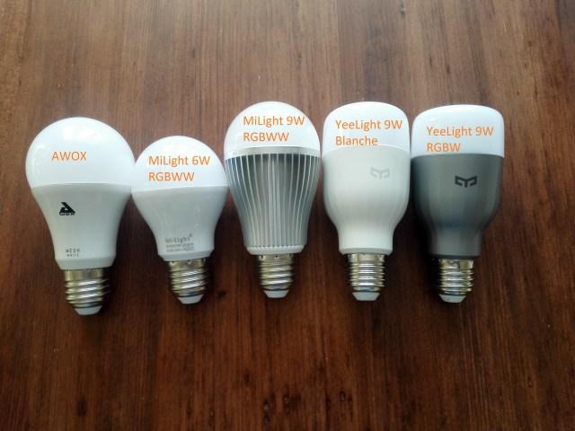 ampoule yeelight domoticz